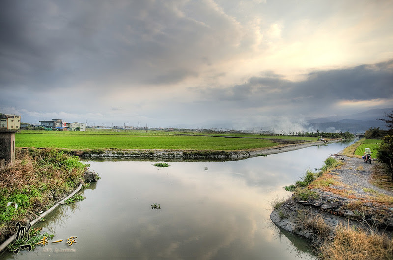 二龍河畔自行車道 宜蘭礁溪單車遊