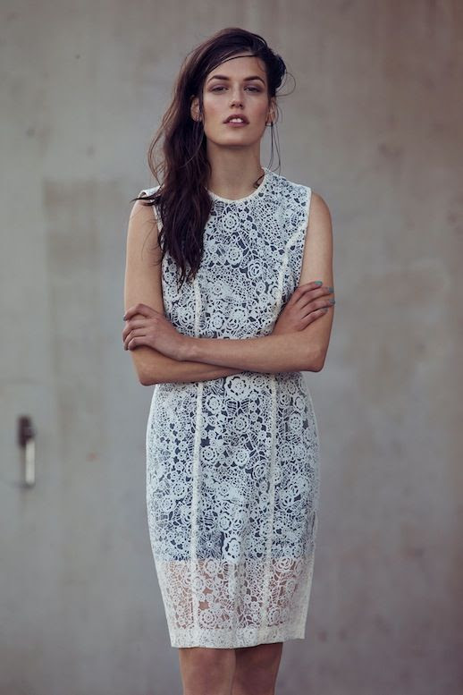 Le Fashion Blog Carin Wester SS 2014 Lookbook White Crochet Lace Dress photo Le-Fashion-Blog-Carin-Wester-SS-2014-Lookbook-White-Crochet-Lace-Dress.jpg