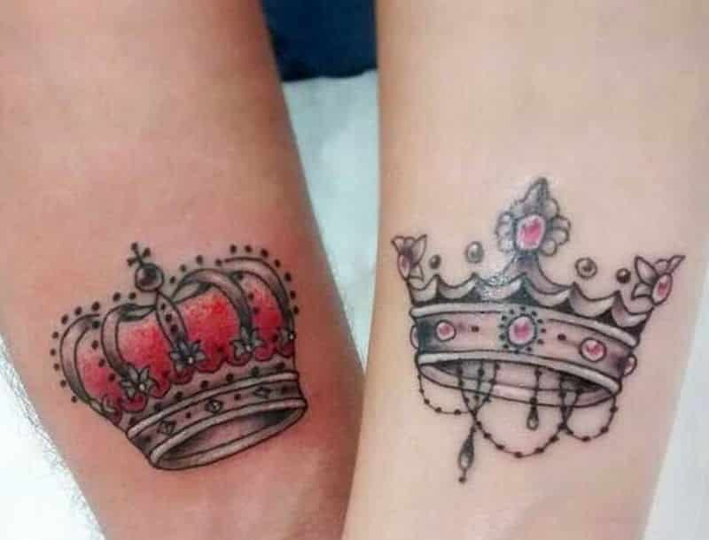 Awesome King Crown Tattoo Tattoo Bytes