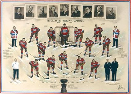 1930-31 Montreal Canadiens team, 1930-31 Montreal Canadiens team