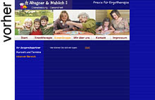 alte Webseite von Crashendo