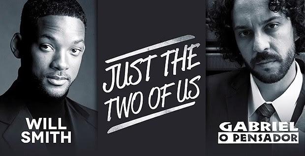 Will Smith e Gabriel O Pensador (Foto: Reprodução / Facebook)