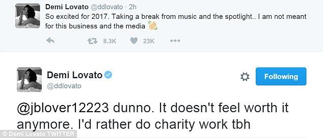 """""""Ele não se sente vale mais a pena ': A atriz Zoolander 2 chocou seus fãs, mais uma vez, em 4 de outubro, quando ela anunciou que estaria tomando um hiato na carreira a partir do próximo ano"""