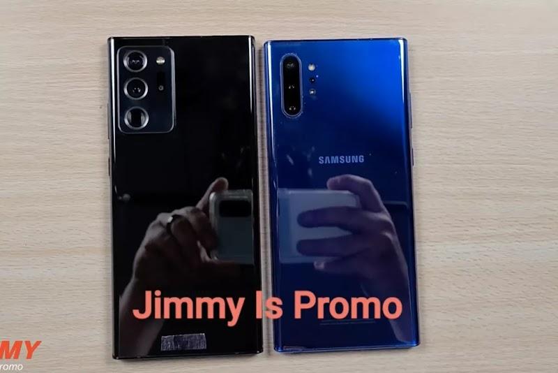 Video Hands-on Samsung Galaxy Note 20 Ultra Beredar, Bawa Fitur S-Pen Baru oleh - reviewprodukhp.xyz
