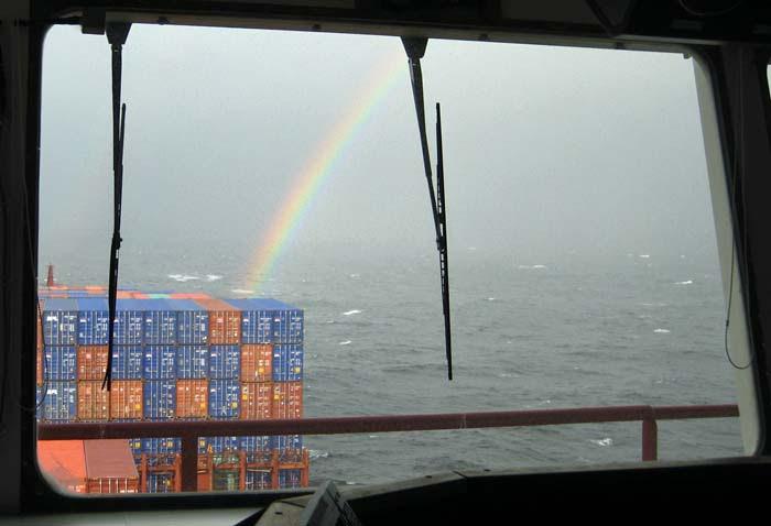 Yellow Sea Rainbow