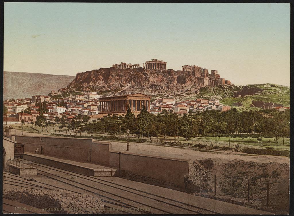 Αθήνα. Η Ακρόπολη και το Θησείο