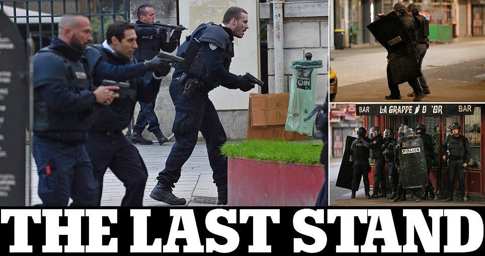 Paris attacks' Saint Denis raid sees police kill woman in a suicide belt