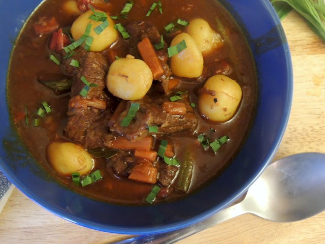 beef stew maple syrup