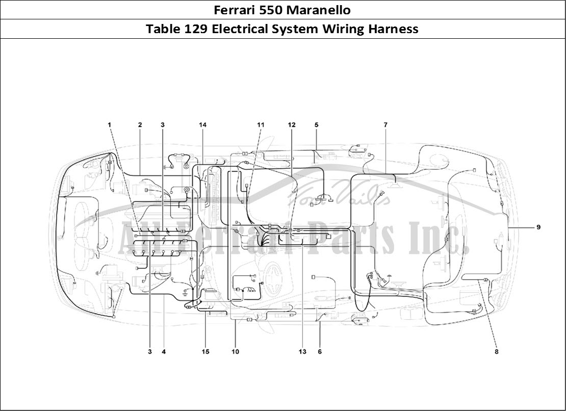 Ferrari 512 Tr For Wiring Diagram