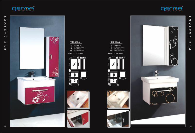 Product Catalogue Designs - GERMA Sanitarywares, Chennai. Page 12