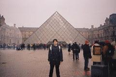 Pyramid, Musée du Louvre, Paris, France