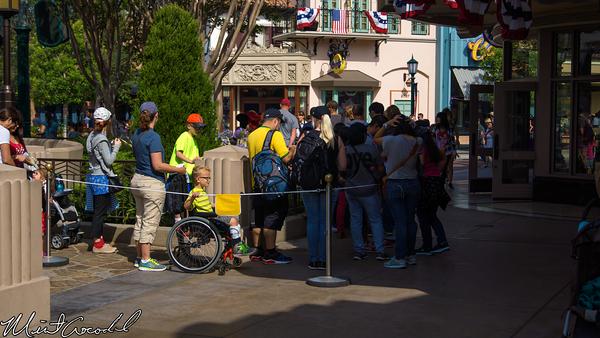 Disneyland Resort, Disney California Adventure, Character, Queue, Buena Vista Street