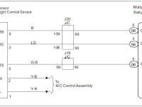 Multiplex Wiring Diagram Lexus B