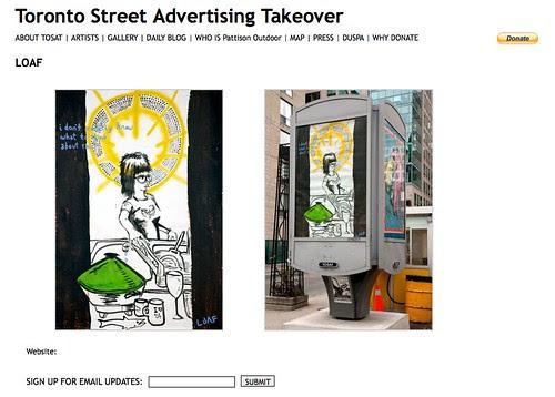 TOSAT : Public Ad Campaign