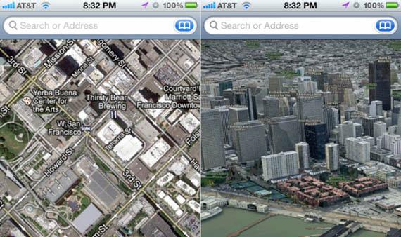 Apple, Αποχαιρετά τα Google Maps για χάρη του 3D στο iOS 6 [φήμες]