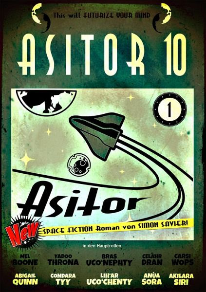 Asitor10 - Asitor (Band1) (eBook, ePUB) - Savier, Simon