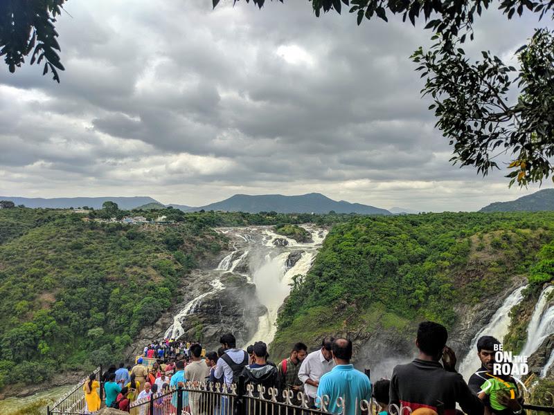 Gaganachukki Falls view point, Karnataka