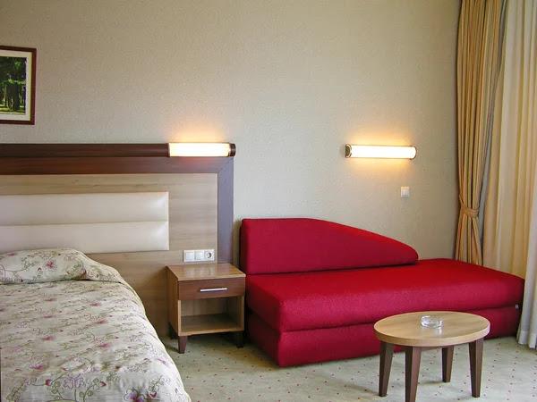 Modern bedroom interior Stock Photo © Olena Buyskykh