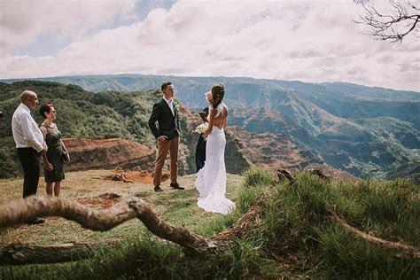 Jeneile   Bill   Waimea Canyon, Kauai Elopement Part I