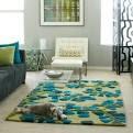 Lime inspired living room on Pinterest
