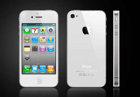 Apple iPhone 4S 550x380 Top 10 Touchscreen Phones for 2012