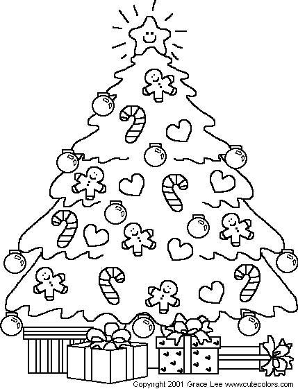 Immagini Albero Natale Da Stampare Disegni Di Natale 2019