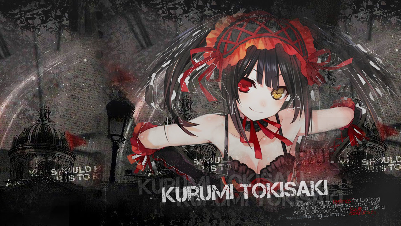 Date A Live Hd Wallpapers Backgrounds Wallpaper 1360x768