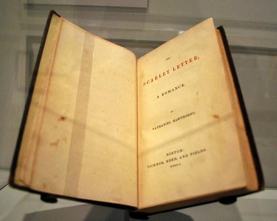 The Scarlet Letter, 1850
