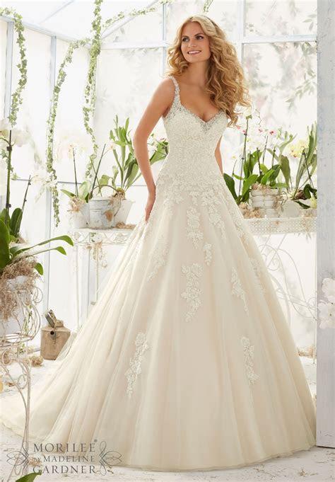 Dress   Mori Lee Bridal SPRING 2016 Collection: 2811