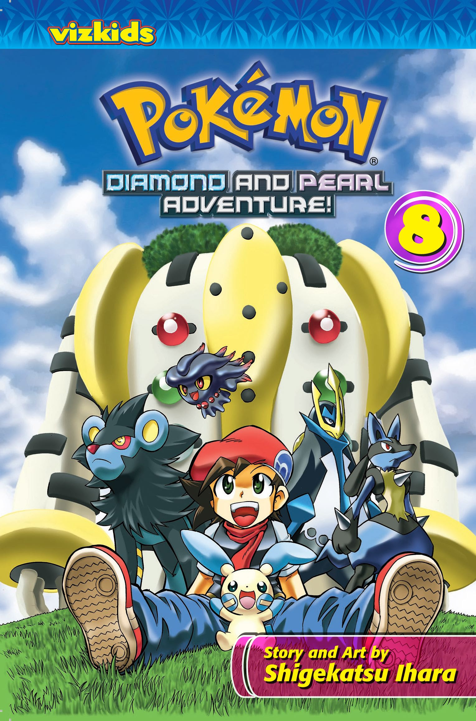 Pokémon: Diamond and Pearl Adventure!, Vol. 8  Book by