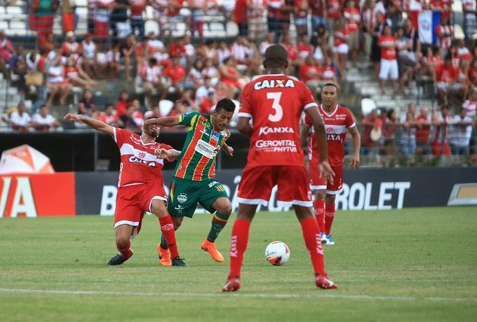 CRB x Sampaio Corrêa - Rei Pelé (Foto: Ailton Cruz/Gazeta de Alagoas)