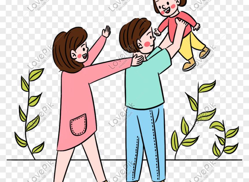 34++ Gambar Kartun Ayah Ibu Dan 2 Anak - Gambar Kartun Mu