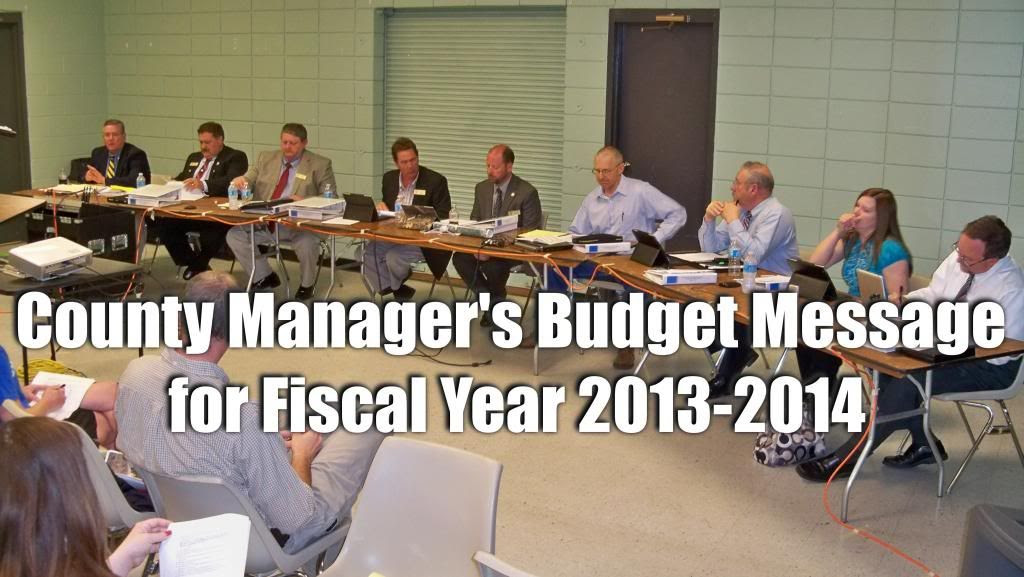2013-2014 Budget Message
