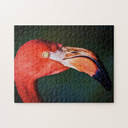 Flamingo 01 Digital Art - Photo Puzzle