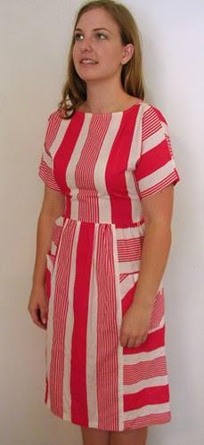 Striped Dress, Etsy.com