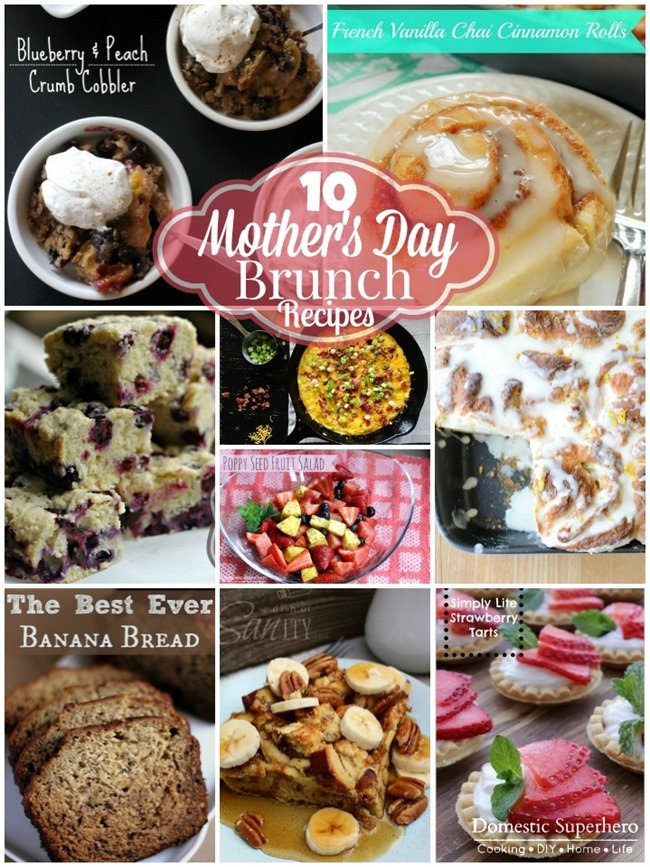 Mothers Day Brunch Recipes 10 Recipes Domestic Superhero