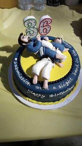 Annie S Art Book Cakes Brazilian Jiu Jitsu Cake
