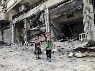 These are Homs children. It is for those Syria...
