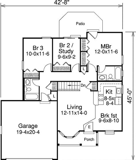 excellent home plan   small family ha