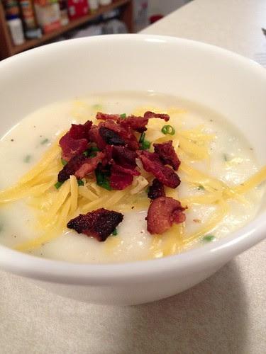 Baked potato soup!