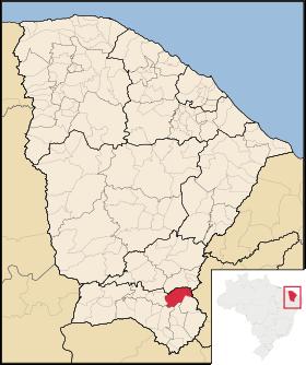 Localização de Aurora