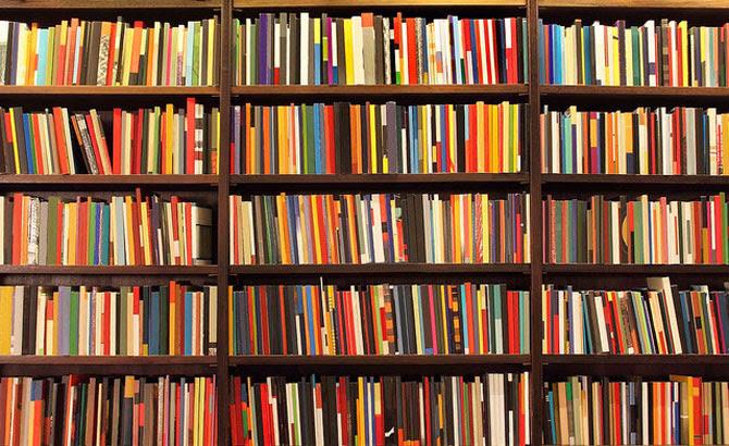 Resultado de imagem para estante de livros