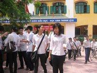 đồng phục trường dân lập thanh bình