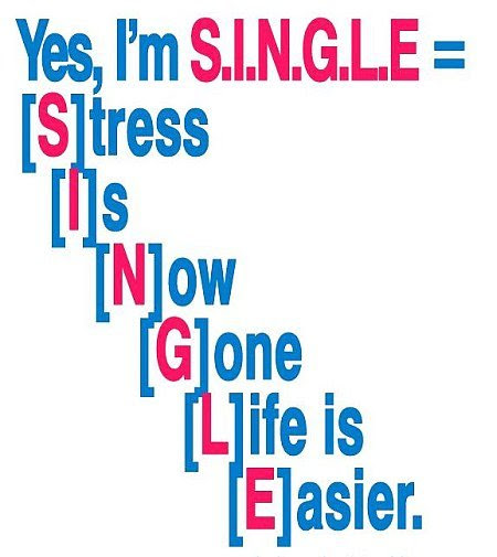 Yes Im Single Quote Picture