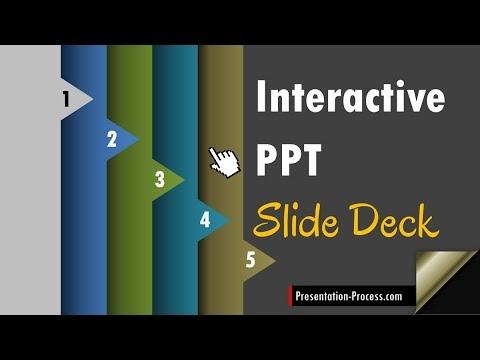 Create an Interactive Slides Deck in PowerPoint