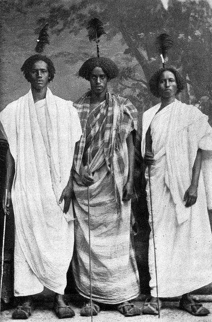 Nomads in Berbera, Somaliland, 1920s.