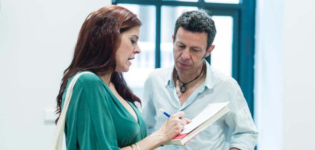 <p>Mónica G. Prieto y Javier Espinosa, en una imagen reciente.</p>