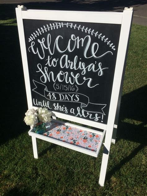 25  Best Ideas about Bridal Shower Chalkboard on Pinterest