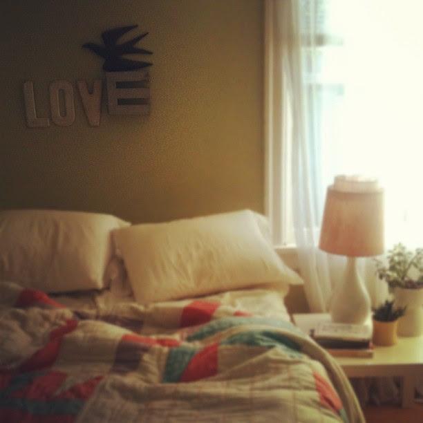 11. where I sleep.
