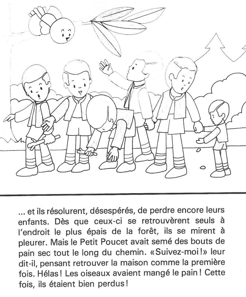 Coloriage Le Petit Poucet Des Milliers De Coloriage Imprimable